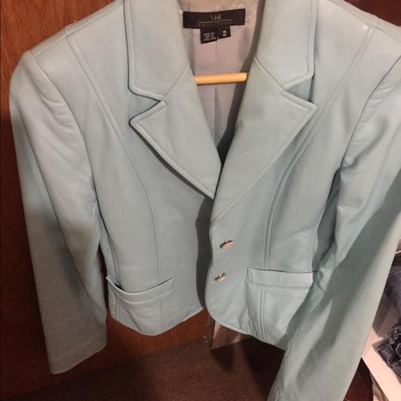 Jackets & Blazers - Ladies' leather jacket